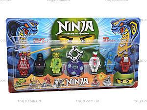 Набор конструктора «Герои-ниндзя», 06209, магазин игрушек