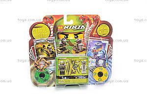 Игровой набор «Ниндзя» с оружием, 9751, детские игрушки