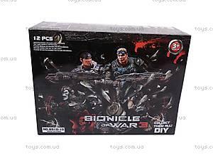 Герои «Война Бионикла 3», в колбе, 8910-10, детские игрушки
