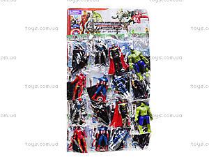 Игровые фигурки «Мстители», 16 штук, 848091, цена
