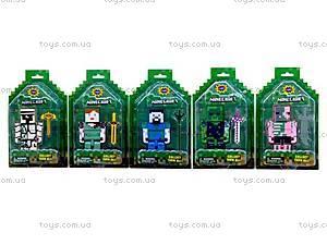 Игрушечные герои «Майнкрафт», 5 видов, 14262