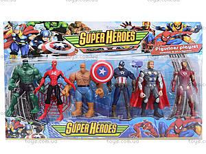 Игровые фигурки «Супергерои», 2312C, отзывы