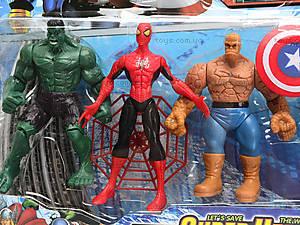 Игровые фигурки «Супергерои», 2312C, цена