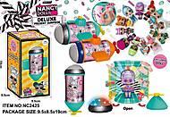 Кукла N.A.N.C.Y. Surprise в капсуле 12 видов куколок + аксессуары, NC2425, игрушка