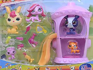 Игрушечный домик с героями PetShop, 7319, купить