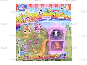 Игрушечный домик с героями PetShop, 7319