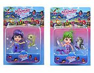 Детские игровые фигурки русалка с дельфином, 897409