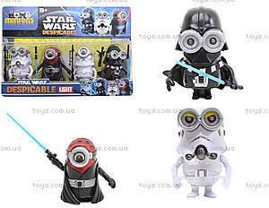 Игрушки-герои «Миньоны Star Wars», BE604