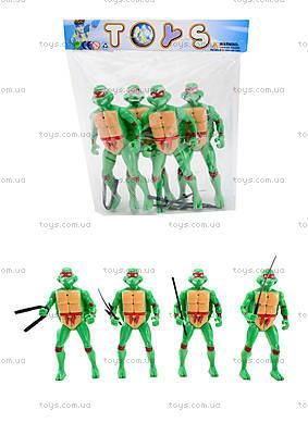 Набор героев «Черепашки ниндзя», 4 штуки, 2081-400