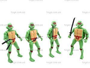 Набор героев «Черепашки ниндзя», 4 штуки, 2081-400, игрушки