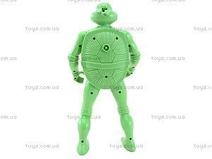 Герои «Черепашки-ниндзя», с подсветкой, 2084-500, игрушки