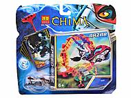 Герой «Chima» с чимациклом, 10023-10026