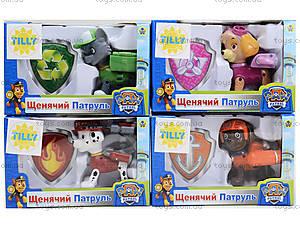 Герои «PAW PATROL», JD-801, детские игрушки