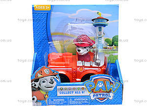 Игрушечные персонажи «Щенячий патруль», с машинкой, JL15032