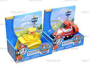 Игрушечные персонажи «Щенячий патруль», с машинкой, JL15032, цена
