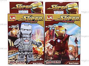 Конструктор-герой Iron Man, 266-H, отзывы