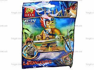 Герой-конструктор серии Chima, RC70007, игрушки