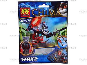 Герой-конструктор серии Chima, RC70007, детские игрушки