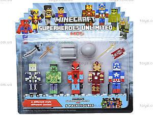 Набор героев Minecraft для игры, 15315