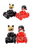 Герои мультфильма «Леди Баг» на машинах , 553-138, детские игрушки