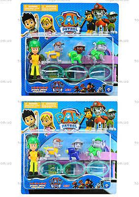 Комплект героев мультфильма «Щенячий патруль», AD134
