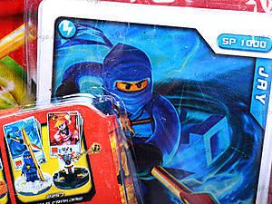 Герой «Ниндзя», с карточкой, 06204, детские игрушки