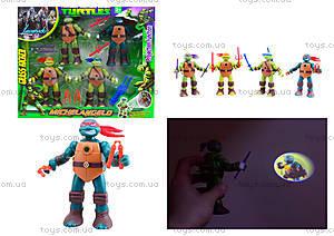 Детский игровой набор «Ниндзя-черепашки», 0812-1