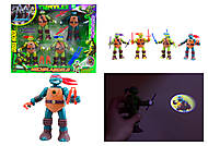 Детский игровой набор «Ниндзя-черепашки», 0812-1, фото