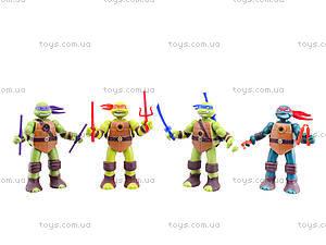 Детский игровой набор «Ниндзя-черепашки», 0812-1, игрушки