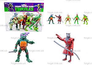 Игровой набор героев «Ниндзя-черепашки», YM30005