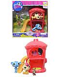 Детские герои Pet Shop с домиком и горкой, TBG077315, отзывы