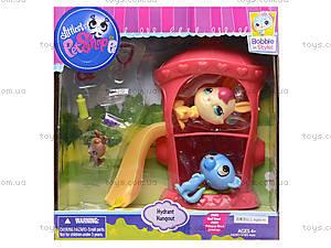 Детские герои Pet Shop с домиком и горкой, TBG077315, цена