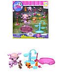 Игровой набор героев Pet Shop, 4 вида, TBG077313, фото