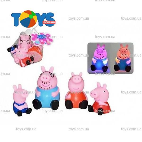 Peppa Pig Набор резиновых фигурок Свинка Пеппа