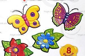 Гипс на магнитах «Феечки, бабочки, цветочки», 4007, фото