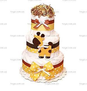 Торт из памперсов Giraffe, BH19