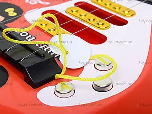 Гитара детская со струнами, B-80, цена