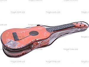 Гитара детская, в чехле, 130A3, фото
