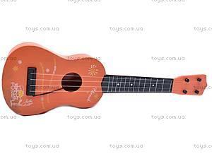 Гитара детская, в чехле, 130A3