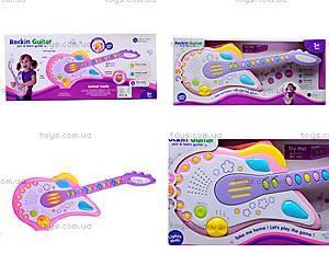Игрушечная гитара «Рок-звезда», 8899B-2