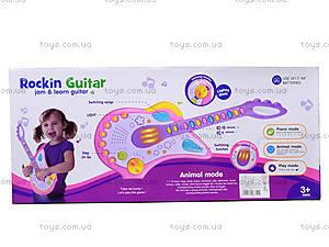 Игрушечная гитара «Рок-звезда», 8899B-2, цена