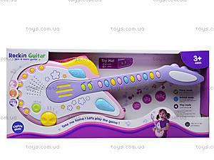 Игрушечная гитара «Рок-звезда», 8899B-2, игрушки
