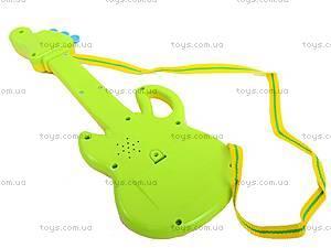 Гитара-орган с мультгероями, 628-1/2/3/4, игрушки