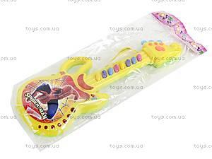 Гитара-орган с мультгероями, 628-1/2/3/4, детские игрушки