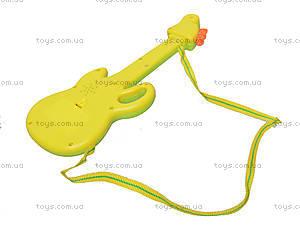 Гитара-орган с мультгероями, 628-1/2/3/4, магазин игрушек