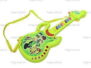 Гитара-орган с мультгероями, 628-1/2/3/4, toys.com.ua