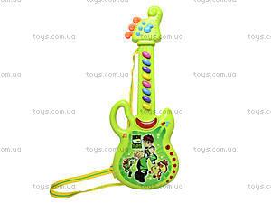 Гитара-орган с мультгероями, 628-1/2/3/4, toys