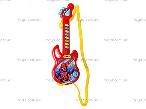 Гитара-орган «Супергерои», 3939-29S, детские игрушки