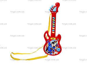 Гитара-орган «Супергерои», 3939-29S, магазин игрушек