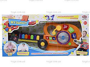 Интерактивная гитара «Я - музыкант», 7237, игрушки